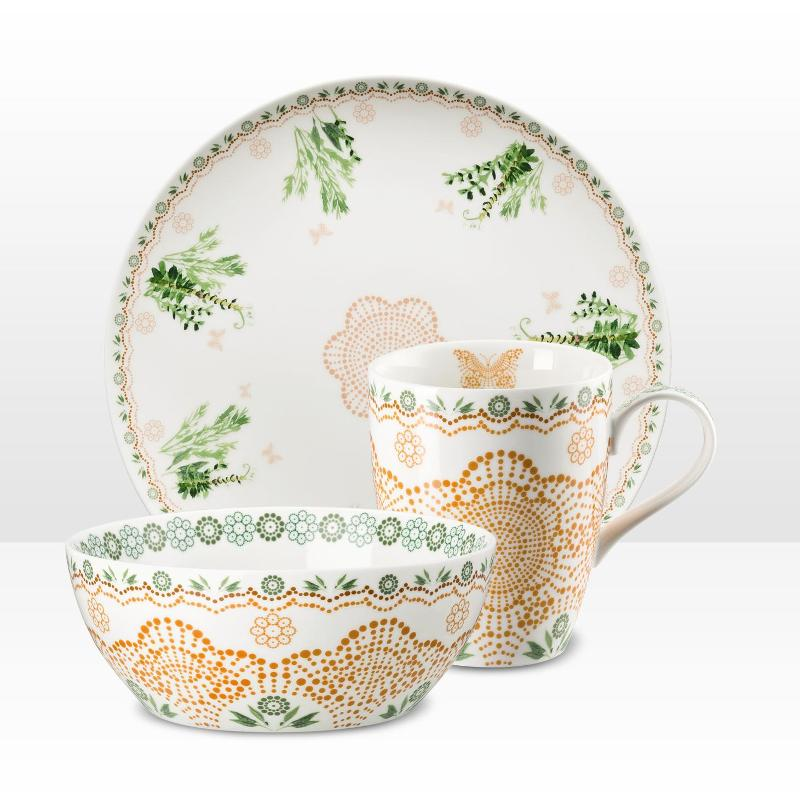 ... hutschenreuther-lots-of-dots-collection-green-bgeqrn ...  sc 1 st  tableware « Shirley Muijrers : hutschenreuther dinnerware - Pezcame.Com